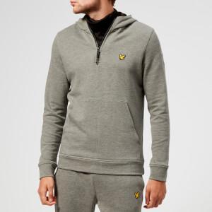 Lyle & Scott Sportswear Men's Longridge Kangaroo Hoody - Mid Grey Marl