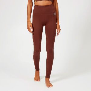 Monreal London Women's Hi Tech Seamless Zen Leggings - Cocoa
