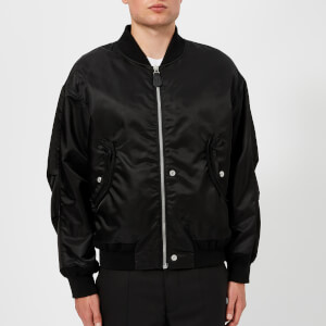 Maison Margiela Men's Classic Nylon Bomber Jacket - Black