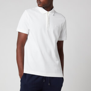 Lacoste Men's Regular Fit Paris Polo Shirt - White