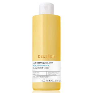 Lait Démaquillant Essentiel Aroma Cleanse DECLÉOR Grand Format 400 ml