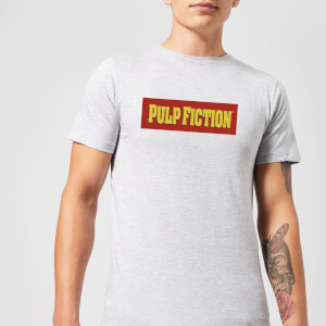 Pulp Fiction Logo Men's T-Shirt - Grey