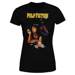 Pulp Fiction Poster Women's T-Shirt - Black