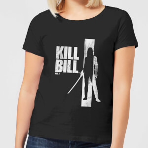 Kill Bill Silhouette Damen T-Shirt - Schwarz