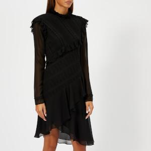 Philosophy di Lorenzo Serafini Women's Aysemetric Black Dress - Black