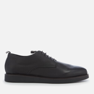 Hudson London Men's Barnstable Leather Derby Shoes - Black