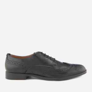 Hudson London Men's Aylesbury Leather Brogues - Black