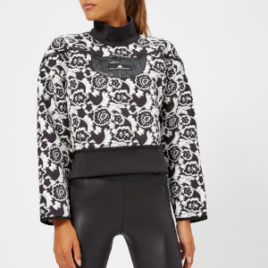 adidas by Stella McCartney Women's Run Sweatshirt - Black/White
