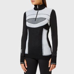 adidas by Stella McCartney Women's Run Ultra Long Sleeve Top - Black/White