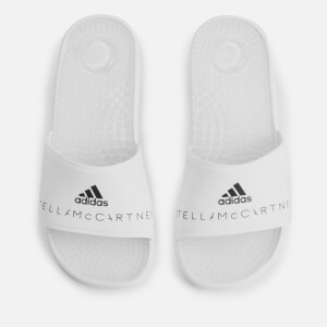 adidas by Stella McCartney Women's Adissage Slide Sandals - White/Black
