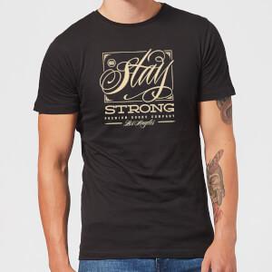 Stay Strong Deming Men's T-Shirt - Black