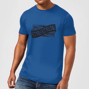 Stay Strong Ribbon Men's T-Shirt - Royal Blue