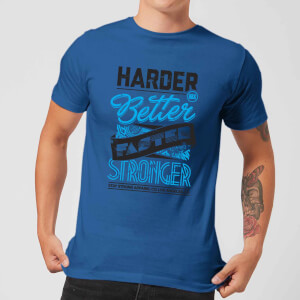 Stay Strong Faster Stronger Men's T-Shirt - Royal Blue