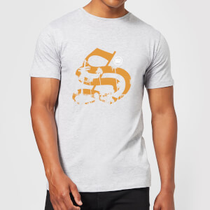 Stay Strong Palm Logo Men's T-Shirt - Grey