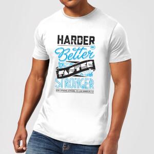 Stay Strong Faster Stronger Men's T-Shirt - White