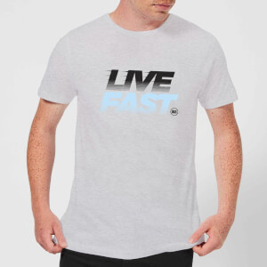Stay Strong Live Fast Men's T-Shirt - Grey