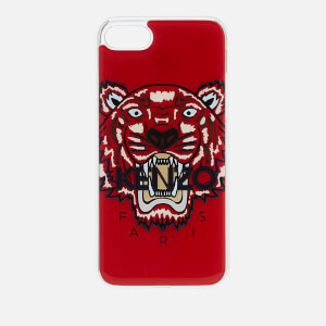 KENZO Men's Tiger Silicone iPhone 7 Plus/8 Plus Case - Medium Red