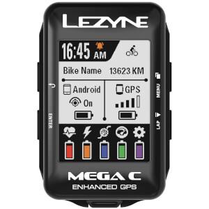 Lezyne Mega Colour GPS サイクル コンピュータ - セット