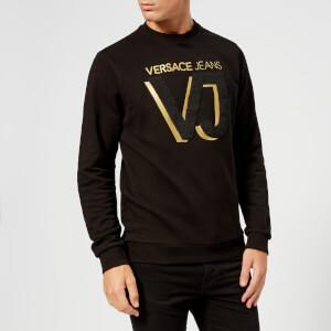 Versace Jeans Men's VJ Logo Sweatshirt - Black