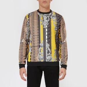 Versace Jeans Men's All Over Pattern Sweatshirt - Multi