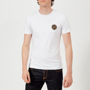 Versace Jeans Men's Small Logo T-Shirt - White