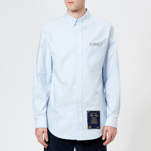 Alexander Wang Men's Ceo and House Rules Patch Shirt - Blue