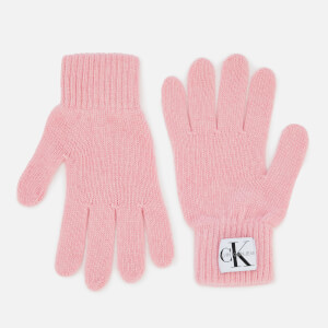 Calvin Klein Women's Basic Women Knitted Gloves - Chintz Rose