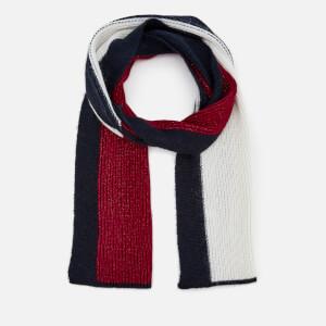 Tommy Hilfiger Women's Luxury Colourblock Scarf - Navy