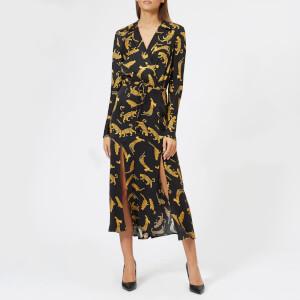 Bec & Bridge Women's Conga Beat Long Sleeve Dress - Cheetah