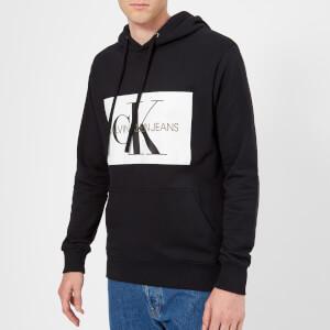 Calvin Klein Jeans Men's Monogram Box Logo Hoody - CK Black