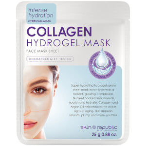 Skin Republic Hydrogel Face Sheet Mask Collagen hydrożelowa maseczka do twarzy z kolagenem 25 g