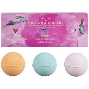Folklore Bath Fizzers Gift Set
