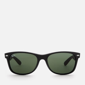Ray-Ban Men's New Wayfarer Classic Sunglasses - Black Rubber