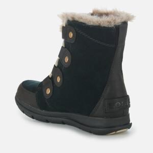 Sorel Women's Explorer Joan Hiker Style Boots - Black Dark Stone: Image 3