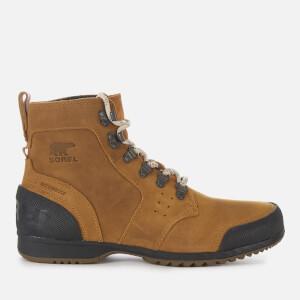 Sorel Men's Ankeny Mid Hiker Style Boots - Elk Black