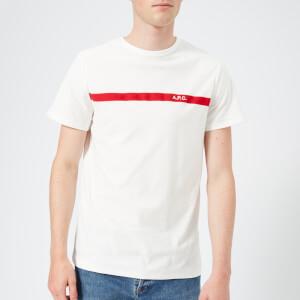 A.P.C. Men's Yukata T-Shirt - Blanc