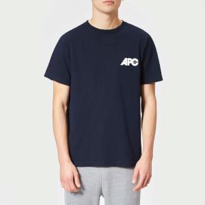 A.P.C. Men's Burnette T-Shirt - Dark Navy: Image 1