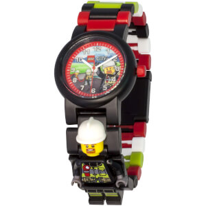 LEGO City Fireman Minifigure Link Watch