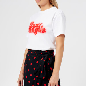 Ganni Women's Harris T-Shirt - Bright White