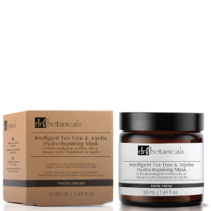 Dr Botanicals Tea Tree and Jojoba Hydro-Repairing Mask -kasvonaamio 50ml