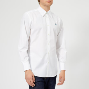 Vivienne Westwood Men's Firm Poplin Classic Shirt - White