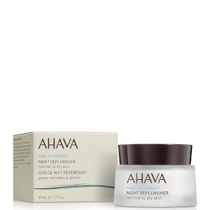 AHAVA Night Replenisher Normal to Dry Skin nawilżający krem na noc do skóry normalnej i suchej 50 ml