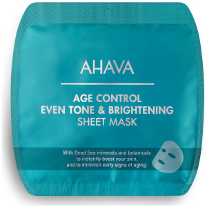 AHAVA Age Control Even Tone & Brightening Sheet Mask -kasvonaamio