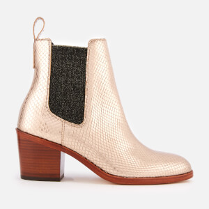 Paul Smith Women's Shelby Heeled Ankle Boots - Gold