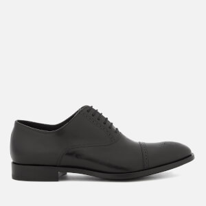 Paul Smith Men's Bertin Leather Toe Cap Oxford Shoes - Black