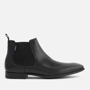 PS by Paul Smith Men's Falconer Leather Chelsea Boots - Black