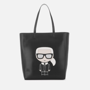 Karl Lagerfeld Women's K/Ikonik Soft Shopper Bag - Black