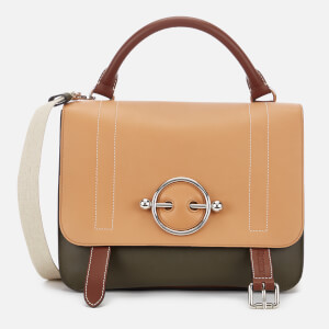JW Anderson Women's Disc Satchel - Chestnut