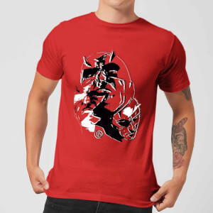 T-Shirt Marvel Knights Daredevil Layered Faces - Rosso - Uomo