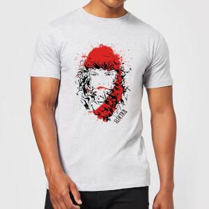 T-Shirt Homme Elektra la Mort dans les Yeux - Marvel Knights - Gris